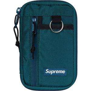 Supreme Small Zip Pouch FW19 - Dark Teal