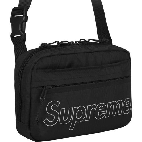 Supreme Shoulder Bag FW18 - Sort