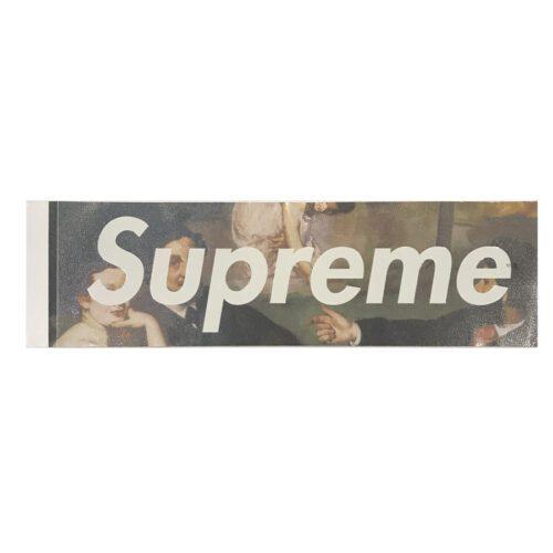 Supreme Le Bain boxlogosticker