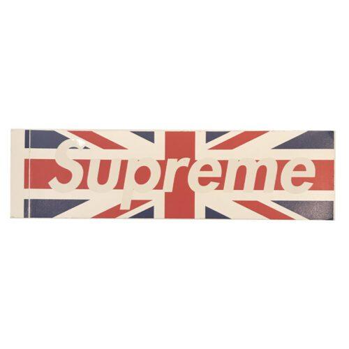 Supreme UK Union boxlogosticker