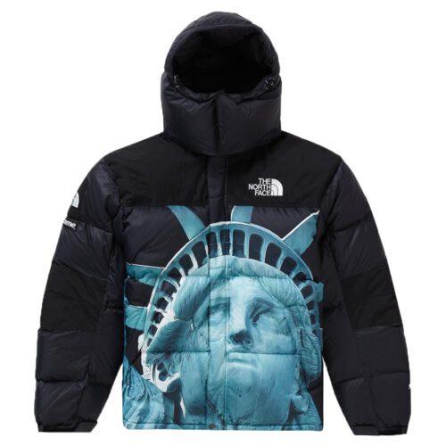 Supreme The North Face Statue Of Liberty Baltoro Puffer Jacket