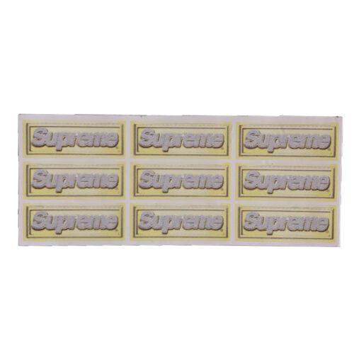 Supreme Mini Bling boxlogo sticker