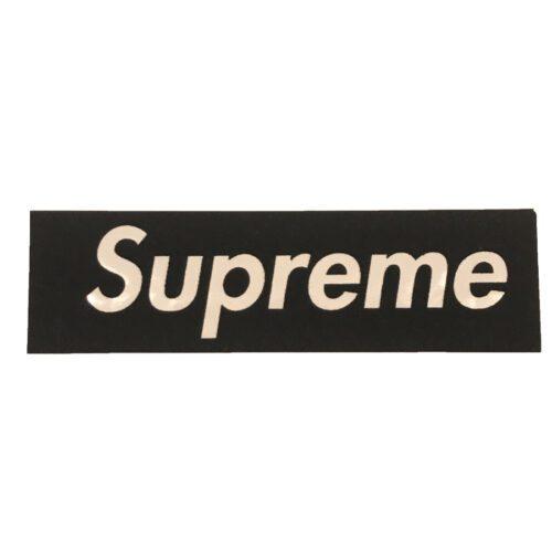 Supreme Velour 2017 Sticker - Sort