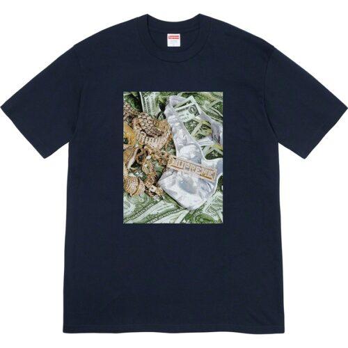 Supreme Bling T-shirt - Mørkeblå