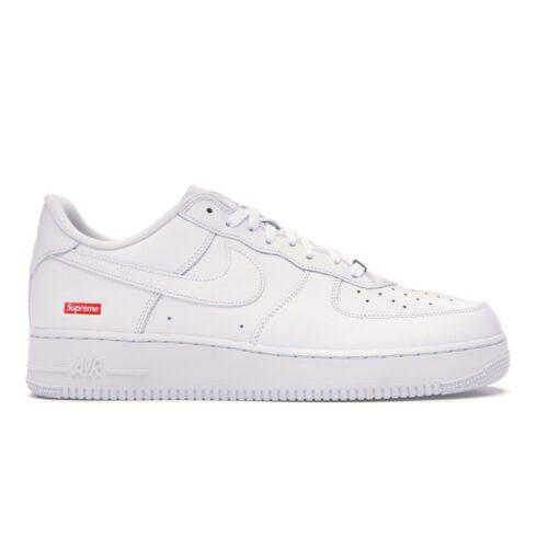 "Nike Air Force 1 ""Supreme"" White"