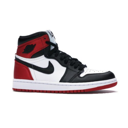 Air Jordan 1 High Satin Black Toe