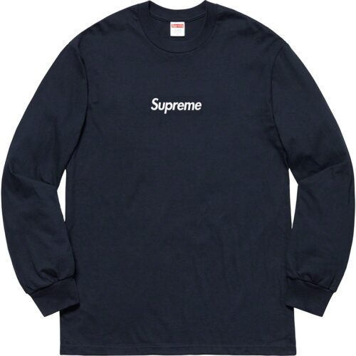 Supreme Box logo Long Sleeve FW20