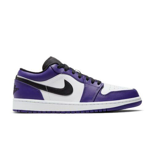 Jordan 1 low court purple