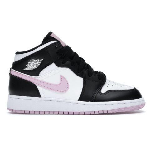Jordan 1 Mid Arctic Pink