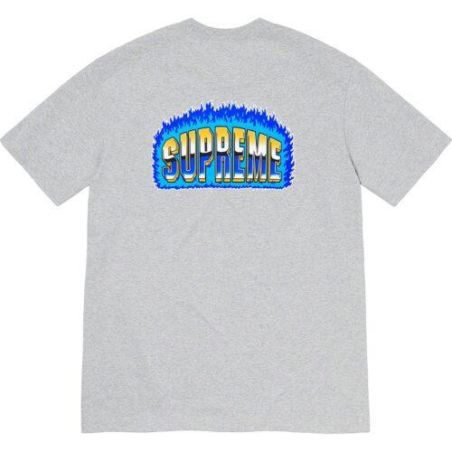 Supremechrome t-shirt - Grå