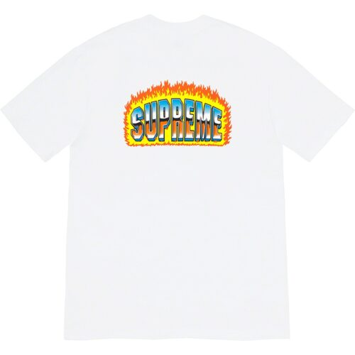 Supreme chrome t-shirt - Hvid