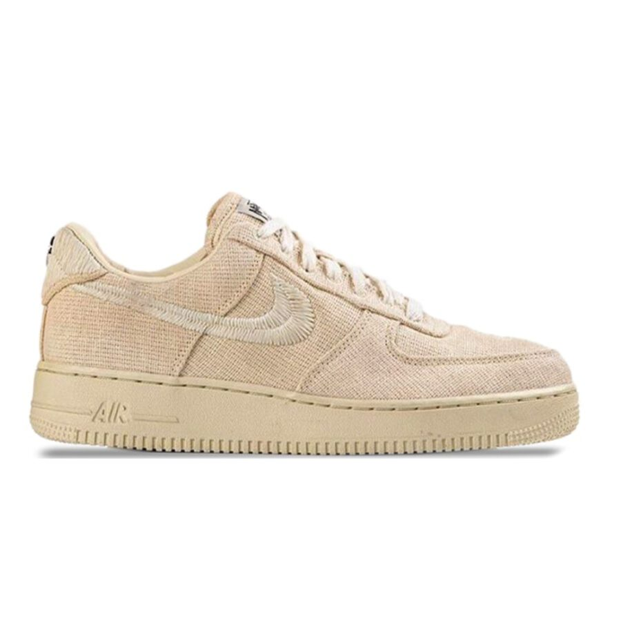 """Nike Air Force 1 Low Stussy """"Fossil"""""""