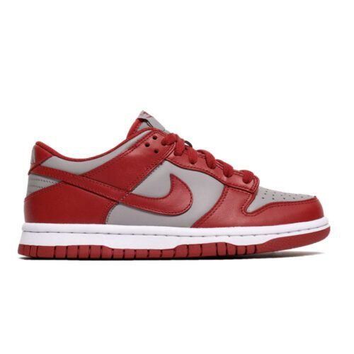 "Nike Dunk Low ""Grey Red"""