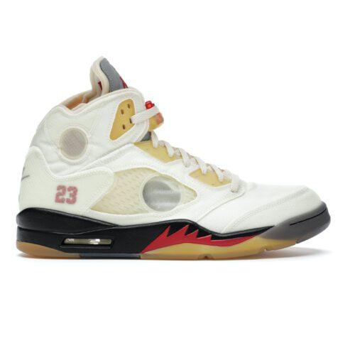 "Nike Jordan 5 Off-White ""Sail"""