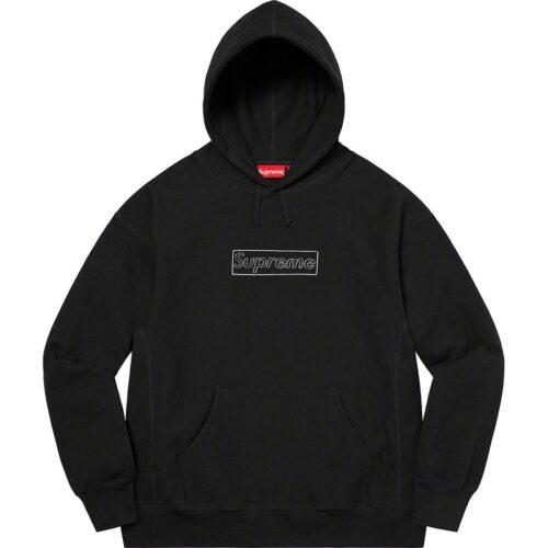 Supreme Kaws Box Logo Hoodie