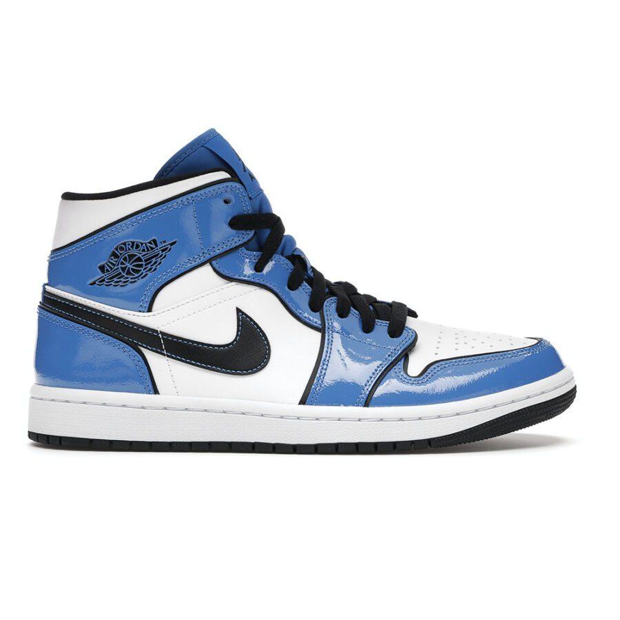 "Jordan 1 Mid ""Signal Blue"""