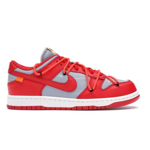 """Dunk Low Off-White """"University Red"""""""