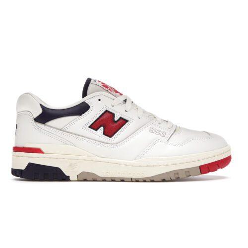 "New Balance 550 x Aime Leon Dore ""White Navy Red"""