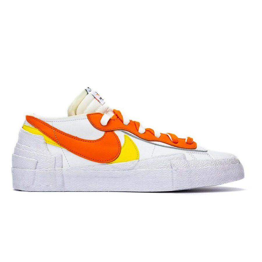 "Nike X Sacai Blazer low ""Magma Orange"""