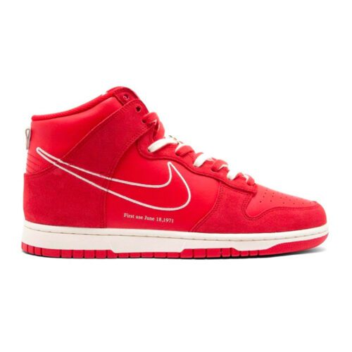 """Dunk High """"First Use Red"""""""