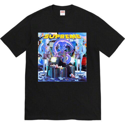 Supreme Richest t-shirt - sort